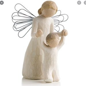 Willow tree angel figurines ornament lot of 4